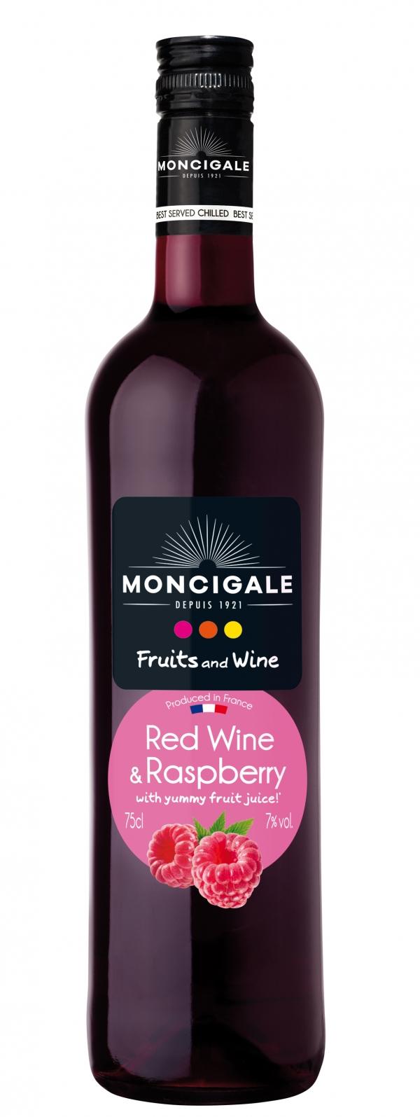 Ароматизирано Червено Вино Фрутис Уайн с Вкус на Къпина 0.75 л