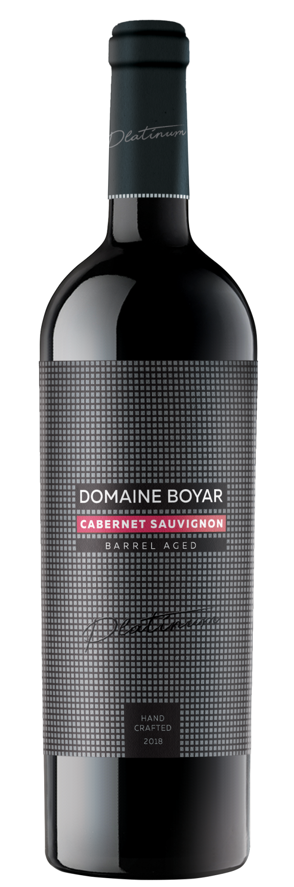 Червено Вино Домейн Бойар Платинум Каберне Совиньон 0.75 л