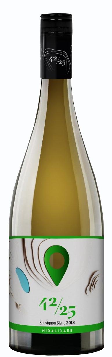 Бяло Вино Мидалидаре 42/25 Совиньон Блан 0.75 л