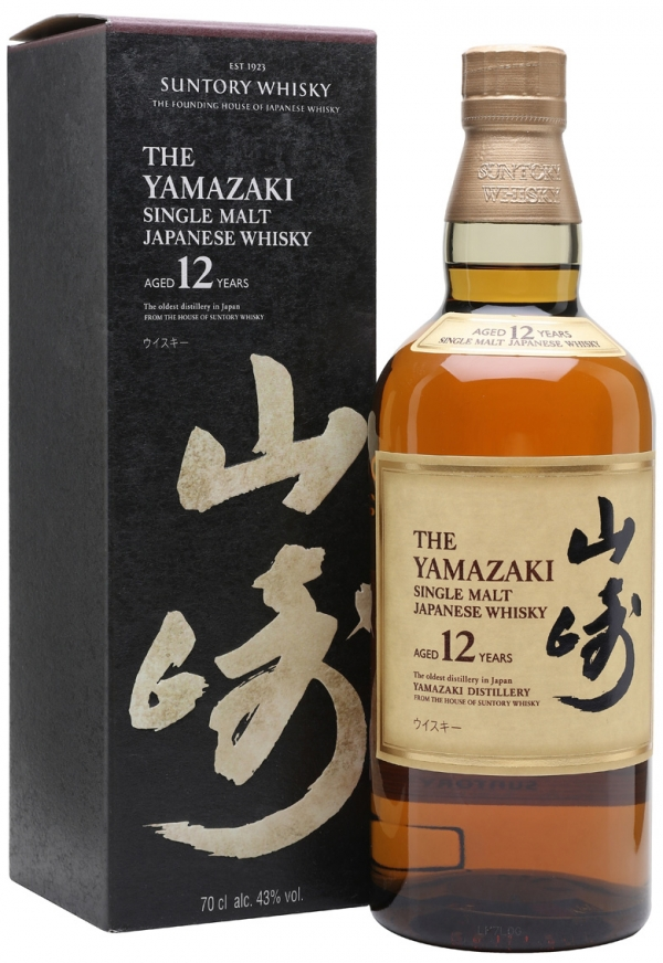 Японско Уиски Ямазаки 12 годишно 0.7 л