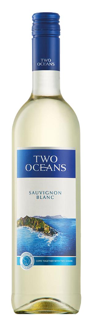 Бяло Вино Ту Оушънс Совиньон Блан 0.75 л