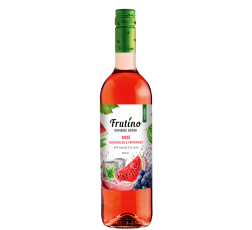 Плодово Вино Фрутино Розе с Диня и Мента 0.75 л