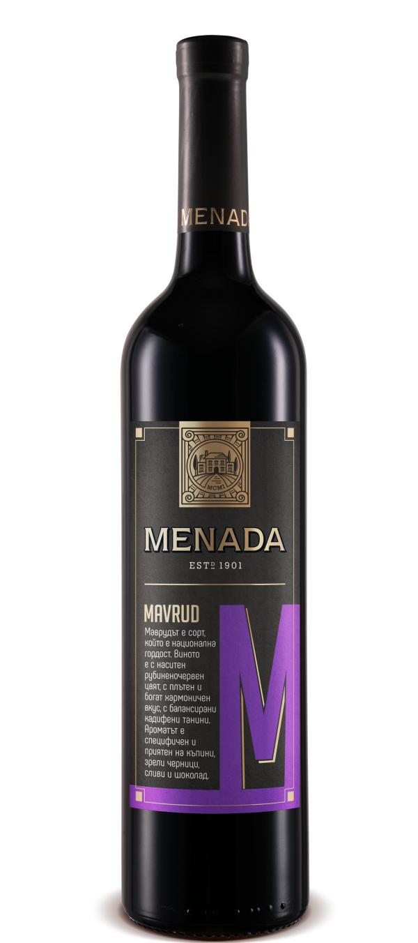 Менада Мавруд Брестовица 0.75 л