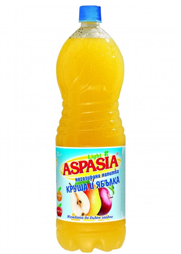 Негазирана Напитка Аспазия Праскова 2 л