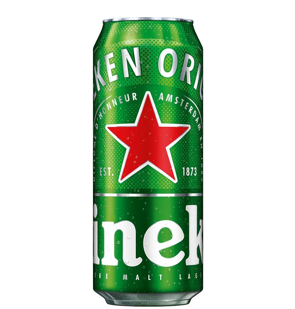 Бира Хайнекен 0.5 л Кен