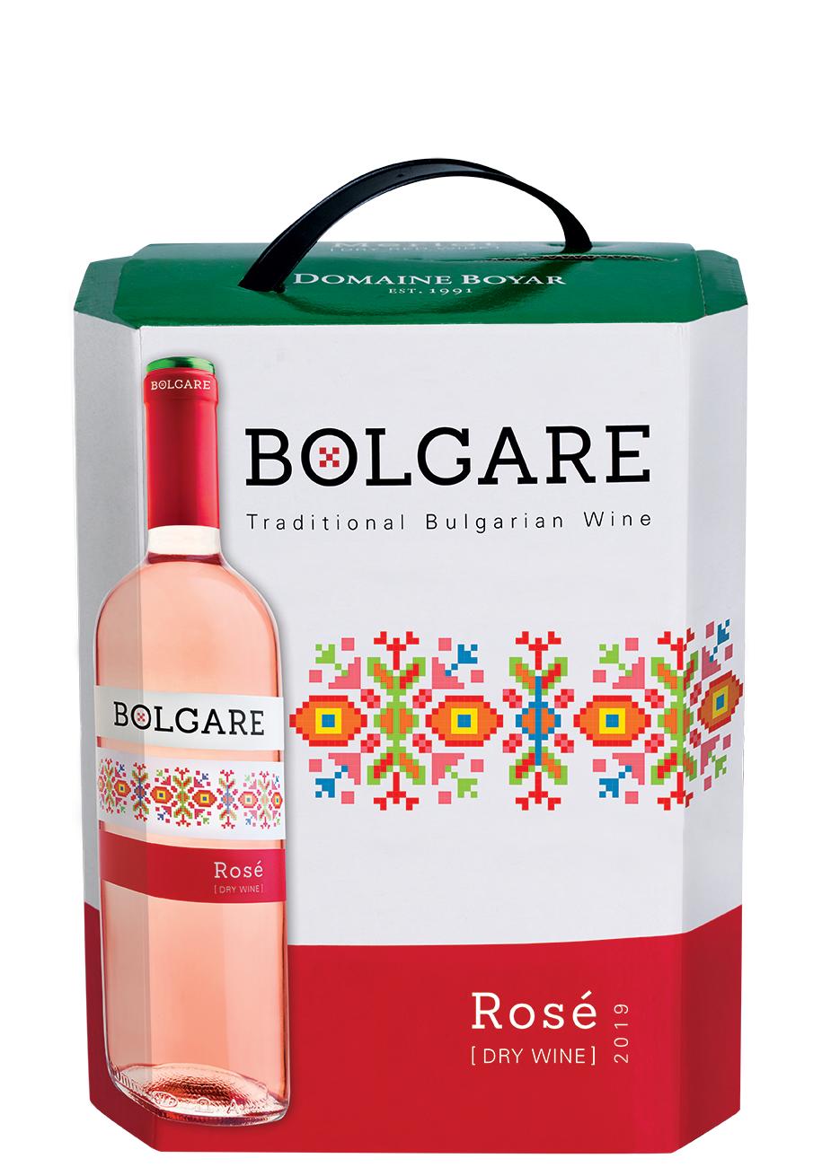 Вино Болгаре Розе 3 л