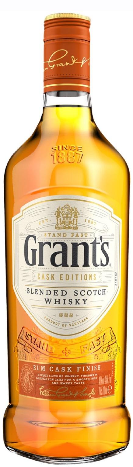 Уиски Грантс Ром Каск 0.7 л
