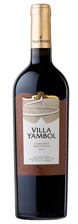 Червено Вино Вила Ямбол Каберне Совиньон 0.75 л