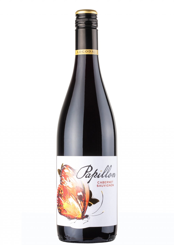 Червено Вино Папийон Каберне Совиньон Логодаж 0.75 л