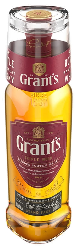 Уиски Грантс 0.7 л с Чаша