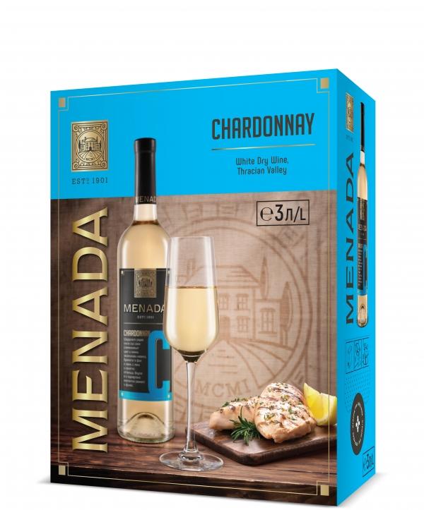 Менада Шардоне 3 л