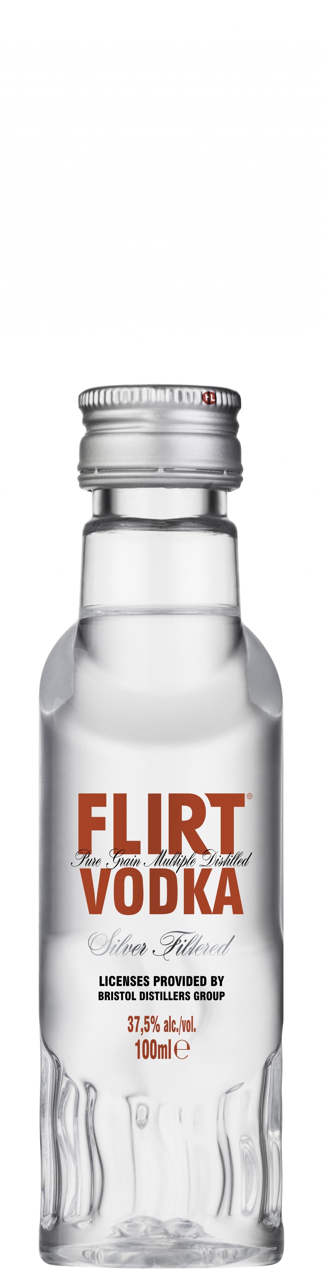 Водка Флирт 0.1 л