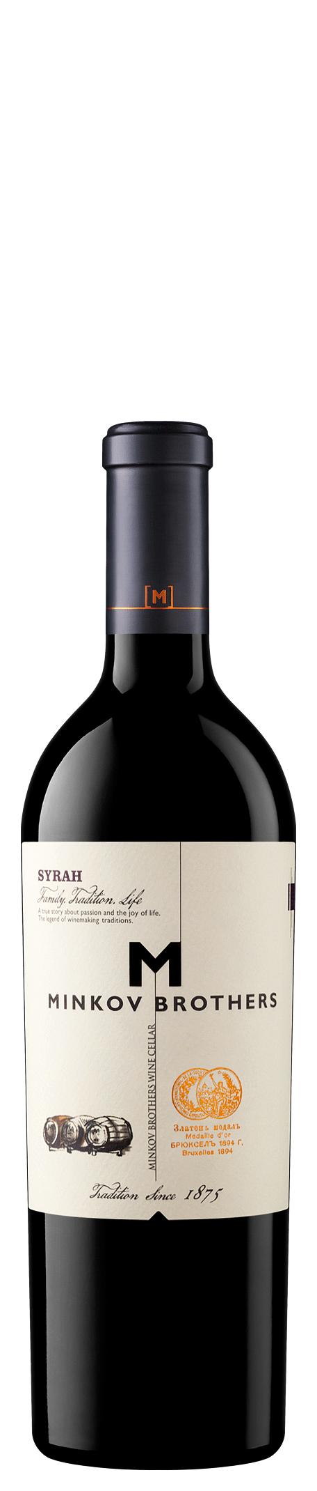 Червено Вино Братя Минкови Сира 0,375 л