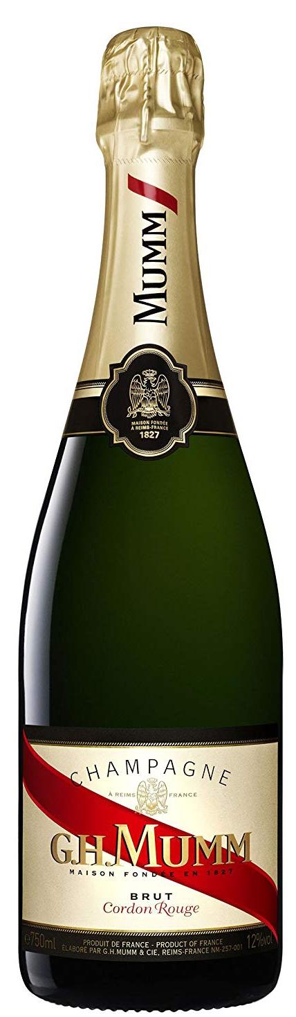 Шампанско Мъм Кордон Руж Брут 0.75 л