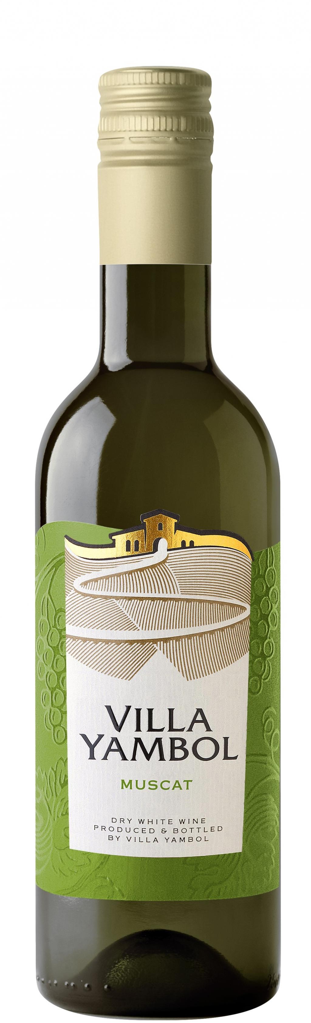 Бяло Вино Вила Ямбол Мускат 0.250 л