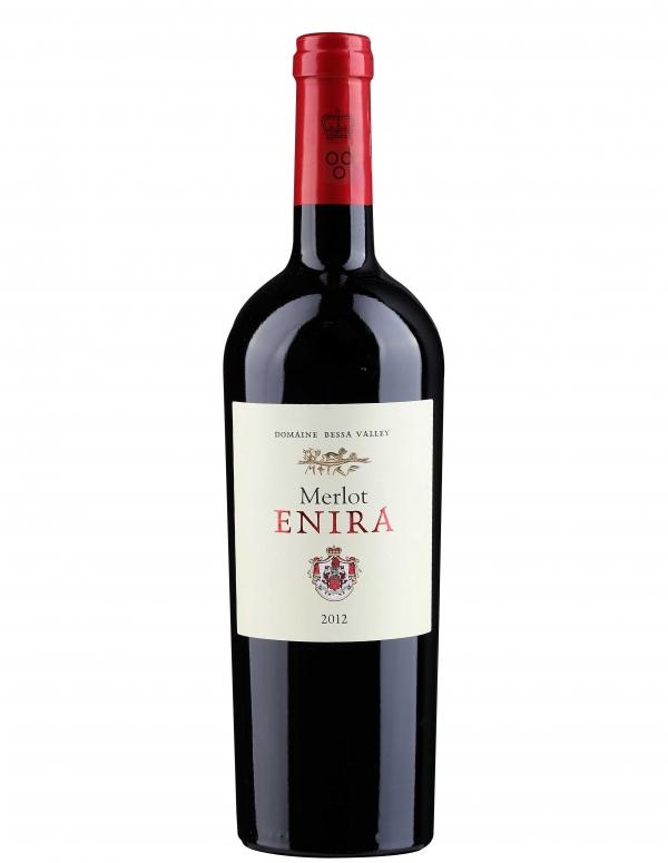 Червено Вино Енира Мерло 0.75 л