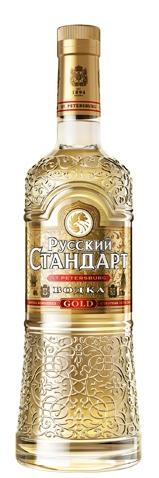 Водка Руски Стандарт Голд 0.7 л