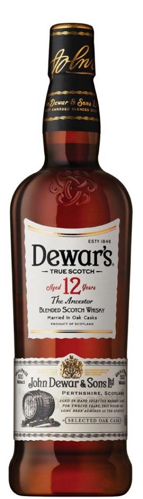 Уиски Дюърс 12 годишен 0.7 л