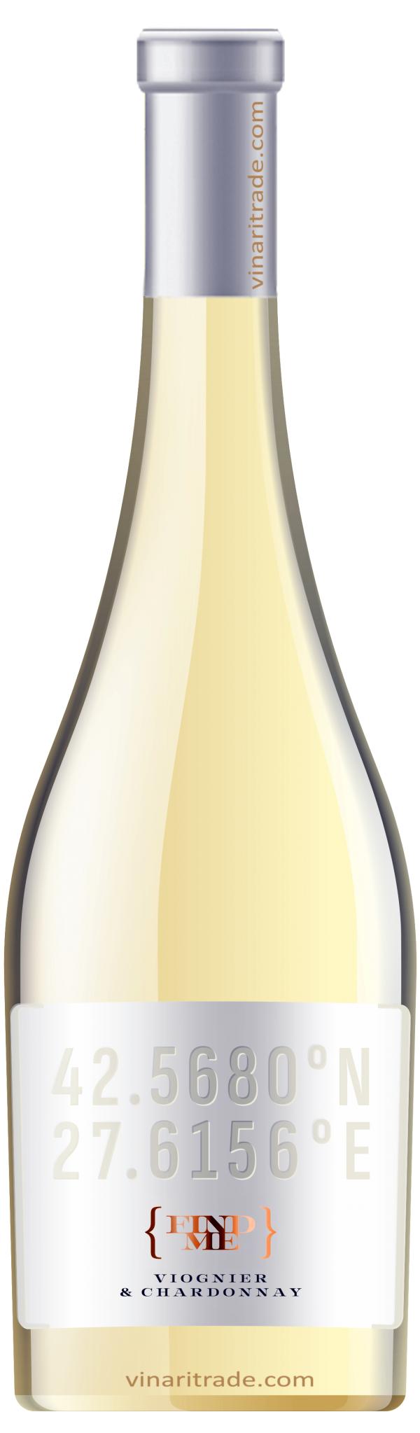 Бяло Вино Find Me Вионие х Шардоне Поморие 0.75 л
