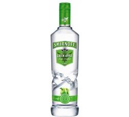 Водка Смирноф Зелена Ябълка 1 л