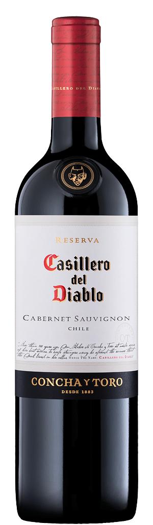 Червено Вино Касиеро дел Диабло Каберне Совиньон 0.75 л