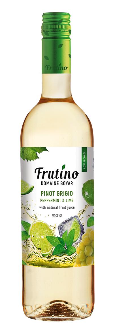 Бяло Плодово Вино Фрутино Пино Гриджо с Мента и Лайм 0.75 л