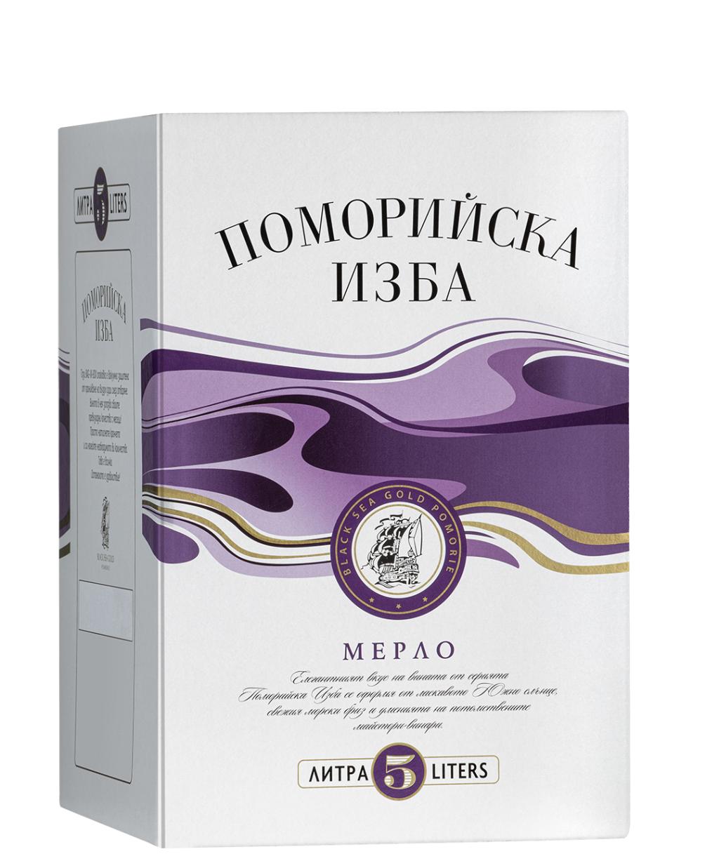 Поморийска Изба Мерло 5 л