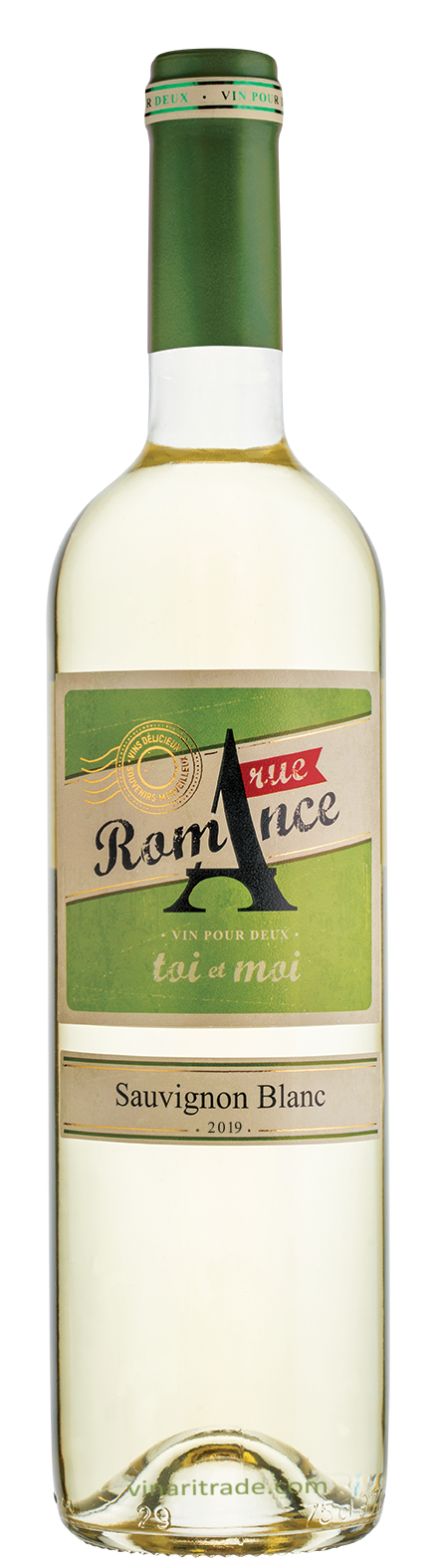Бяло Вино Рю Романс Совиньон Блан 0.75 л, Домейн Бойар