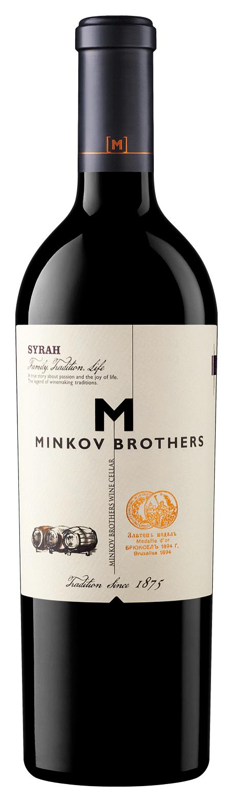 Червено Вино Братя Минкови Сира 0.75 л