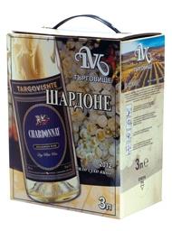 Бяло Вино Шардоне Търговище 3 л