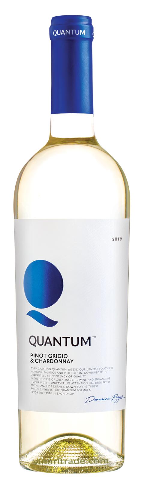 Бяло Вино Квантум Пино Гриджо х Шардоне 0.75