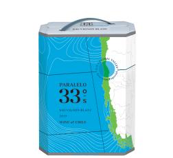 Бяло Вино 33–ти Паралел Совиньон Блан 3 л