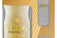 Турска Ракия Текирда Ракъ Голд 0.7 л с 2 Чаши