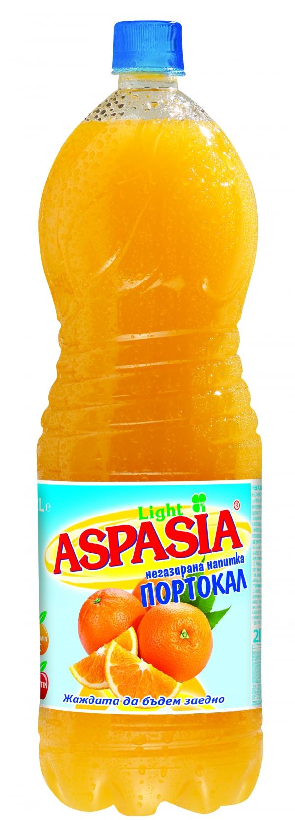 Негазирана Напитка Аспазия Портокал 2 л