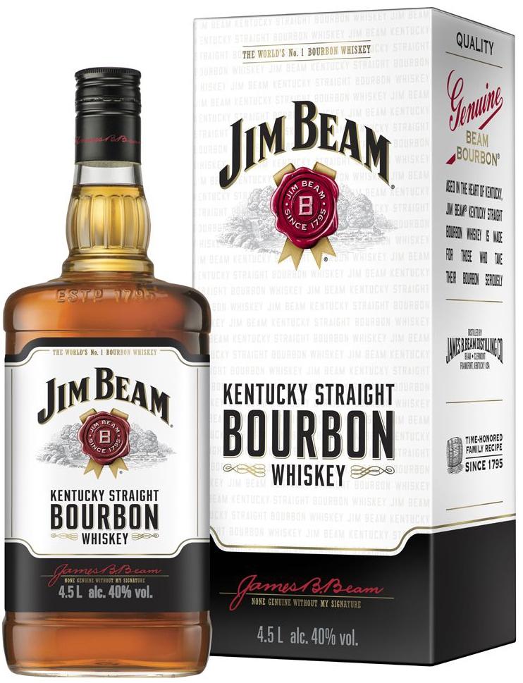 Уиски Джим Бийм 4.5 л