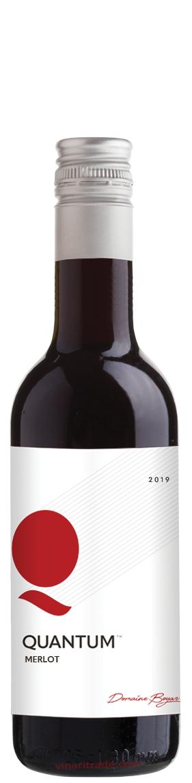 Червено Вино Квантум Мерло 0.250 л