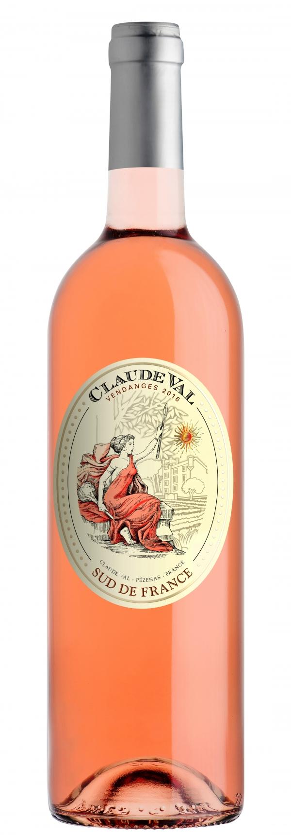 Вино Клод Вал Розе 0.75 л