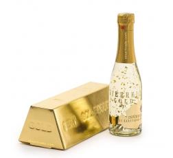 Пенливо Вино Йостерайх Голд със Златни Късчета 0.2 л в Кутия