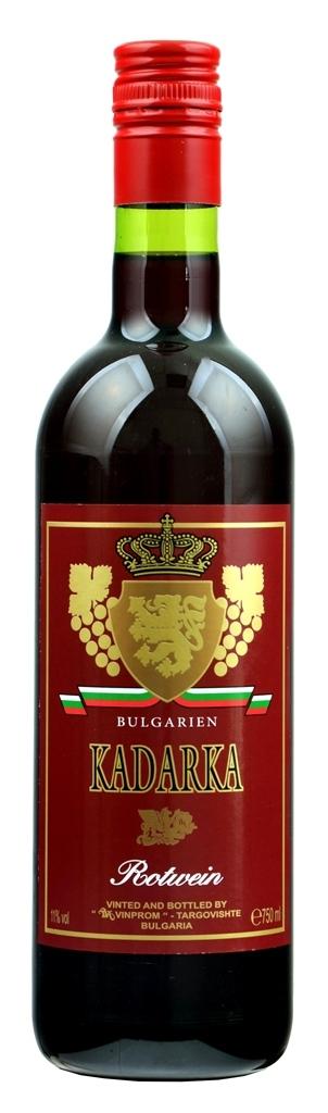 Полусладко Червено Вино Кадарка Търговище 0.75 л