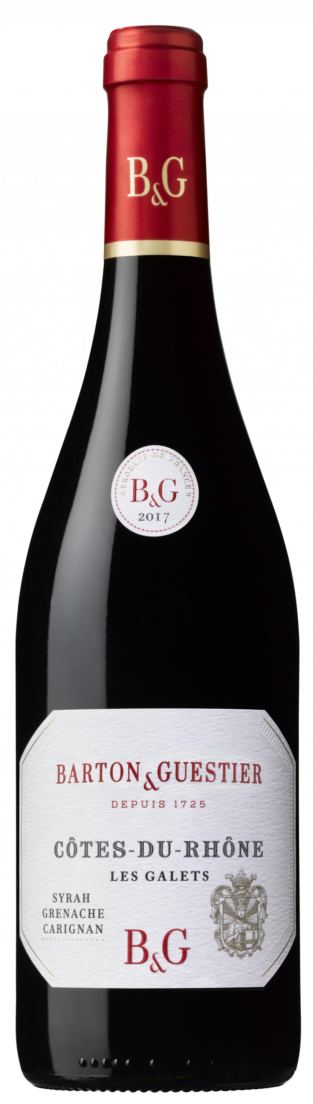 Червено Вино Ле Гале Кот дьо Рон Бартон е Гетие, Рона 0.75 л