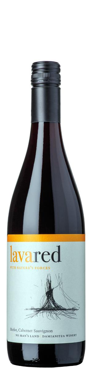 Лава Червено Вино Ничия Земя 0.375 л