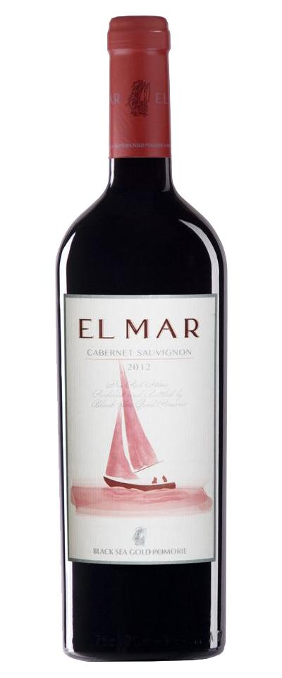 Червено Вино Ел Мар Каберне Поморие 0.75 л