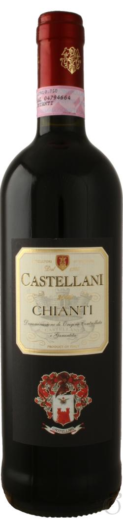 Червено Вино Кастелани Кианти DOCG, 0.75 л