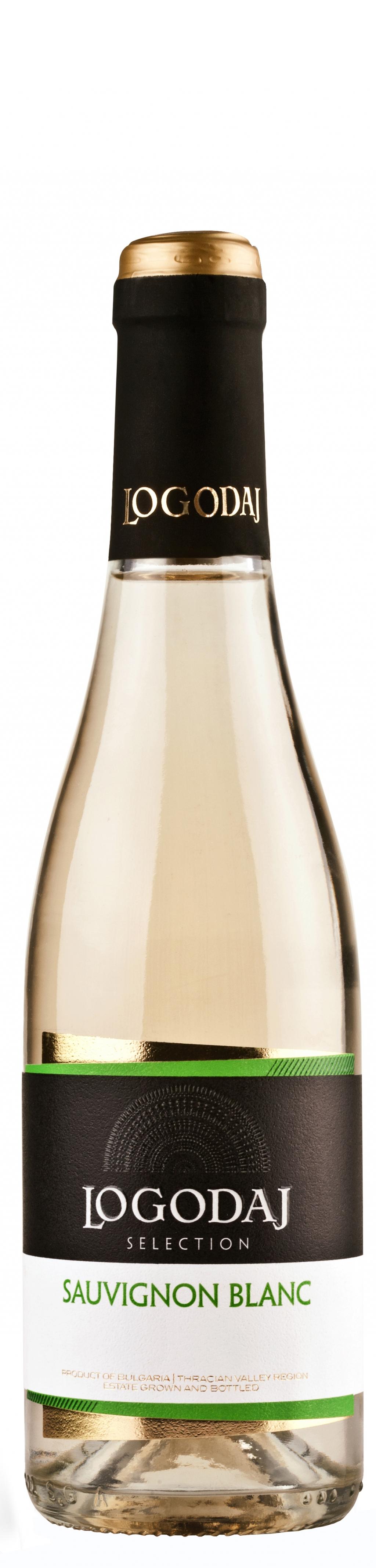 Бяло Вино Логодаж Селекшън Совиньон Блан 0.375 л