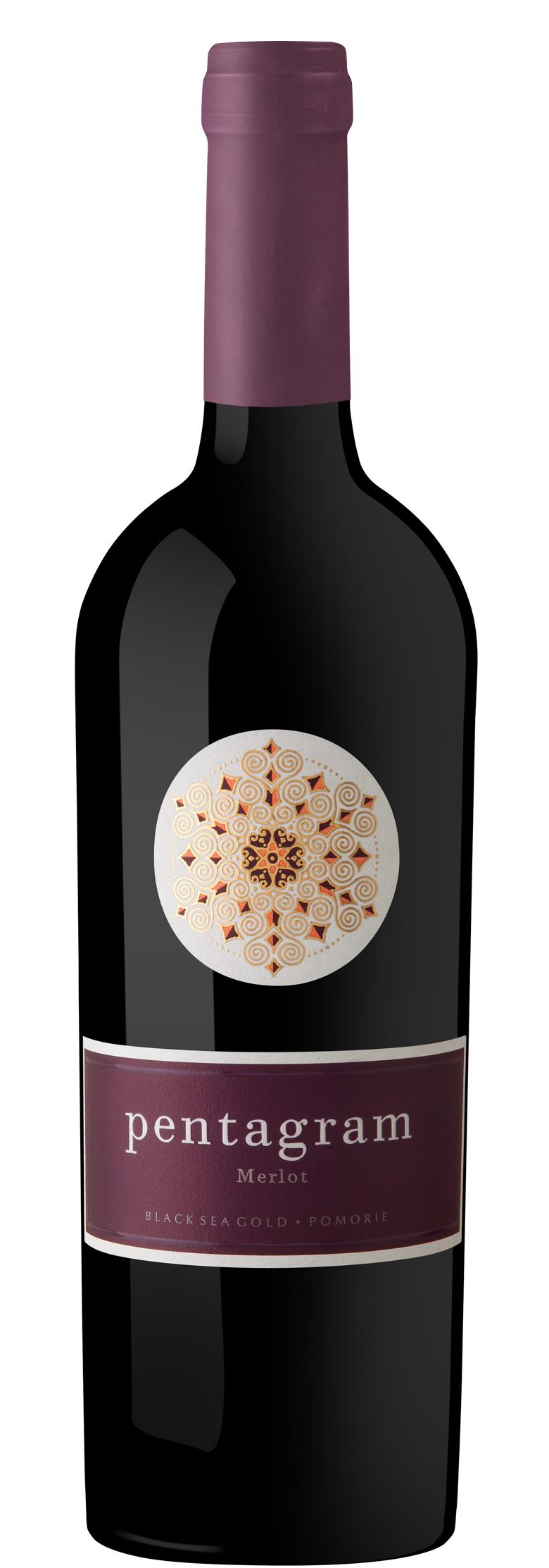 Червено Вино Пентаграм Мерло Поморие 0.75 л