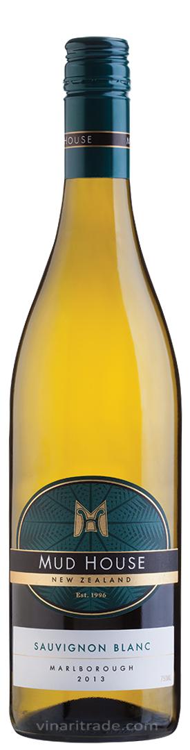 Бяло Вино Мъд Хаус Марлборо Совиньон Блан 0.75 л