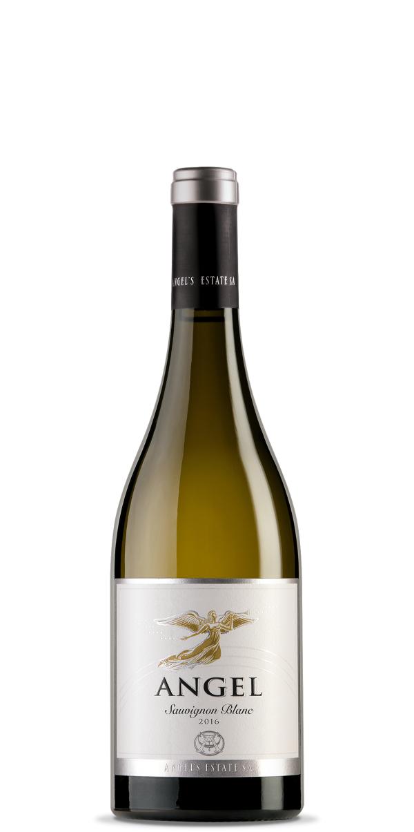 Бяло Вино Ейнджълс Естейт Ейнджъл Совиньон Блан 0.375 л