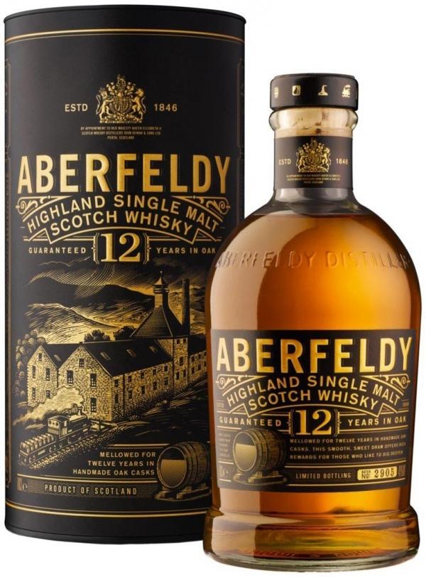 Уиски Аберфелди 12 годишно 0.7 л