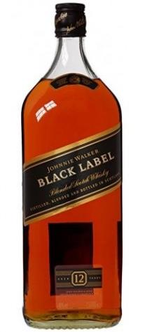 Уиски Джони Уокър Черен Етикет 12 годишно 3 л