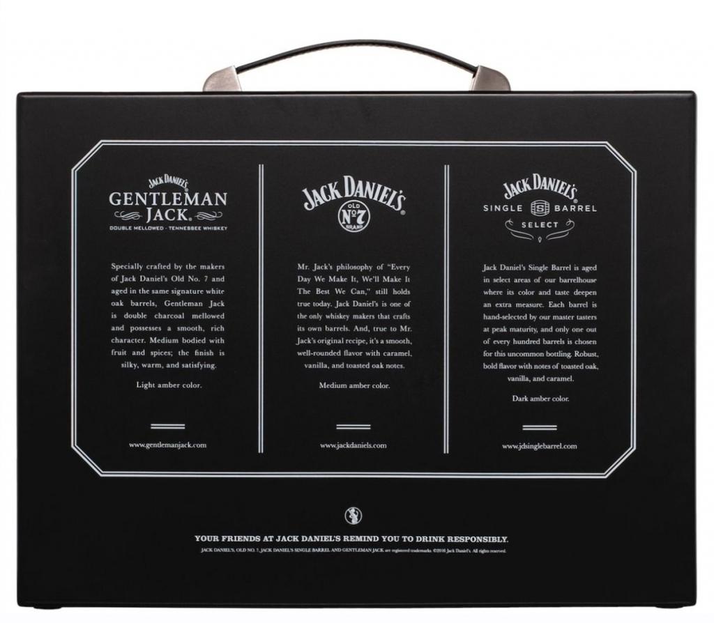 Уиски Джак Даниелс Семейство 0.7 л